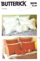 Butterick 6816 Pillows & Pillow Covers
