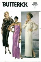 Butterick 6950 Top Dress Gown Size 12 - Bust 34