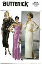 Butterick 6950 Top Dress Gown Size 16 - Bust 38