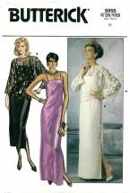 Butterick 6950 Top Dress Gown Size 8 - Bust 31 1/2