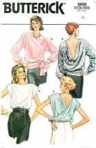 Butterick 6958 Pullover Blouses Size 8