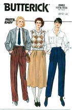 Butterick 6962 Pants & Skirts Size 8 - 12