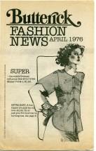 Butterick Fashion News April 1976 Pamphlet