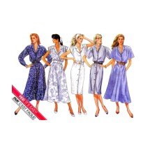 Misses Blouson Dress Butterick 4734 Vintage Sewing Pattern Size 8 - 10 - 12