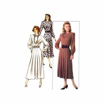 David Warren Dress Butterick 5832 Sewing Pattern Size 6 - 8 - 10