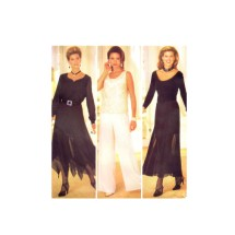 Misses Skirt Pants Slip Butterick 3208 Sewing Pattern Size 14 - 16 - 18