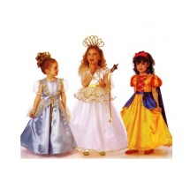 Girls Fairy Godmother Princess Snow White Cinderella Costume Butterick 6935 Sewing Pattern Size 5 - 6 - 6X