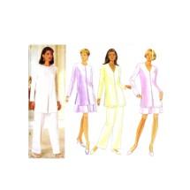 Misses Tunic Skirt Shorts Pants Butterick 3952 Sewing Pattern Size 12 - 14 - 16