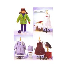 23 Inch Doll Clothes Rachel Wallis Butterick 6373 Sewing Pattern