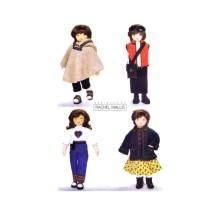 23 inch Doll Clothes Rachel Wallis Butterick 6799 Sewing Pattern