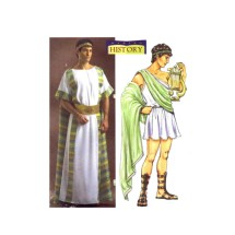 Mens Ancient Greek Costumes Butterick 4573 Sewing Pattern Size S - M - L