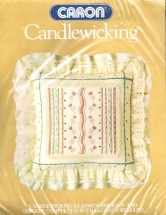 Caron Dutch Tulip Square Pillow Candlewicking Kit