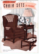 Chair Sets to Crochet Pattern Book No. 143