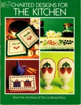 Charted Designs For The Kitchen Counted Cross Stitch Book