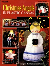Leisure Arts Christmas Angels in Plastic Canvas Book