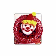 P. T. Pillow Clown Clowning Around Crochet Pattern Annie's Pattern Club