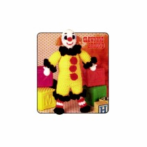 Tiny Tom Clown Doll Clowning Around Crochet Pattern Annies Pattern Club