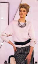 Cotton Pullover Knitting Pattern
