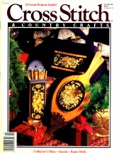 Cross Stitch & Country Crafts Magazine Nov / Dec 1990