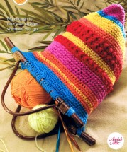Desert Sunset Purse Crochet Pattern Annies Scrap Crochet Club