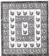 Butterfly Quilt Single Twin Double Size Mail Order Design 7273 Vintage Sewing Pattern