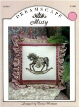 Dreamscape Misty Rocking Horse Pony Cross Stitch Leaflet