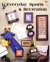 Everyday Sports & Recreations Cross Stitch Book