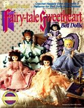 The Needlecraft Shop Fairy-tale Sweetheart Crochet Bed Dolls