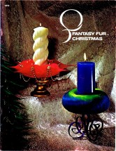 Fantasy Fur Christmas Craft Book