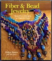 Fiber & Bead Jewelry Book by Helen Banes