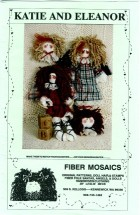 Fiber Mosaics Katie and Eleanor Doll Pattern