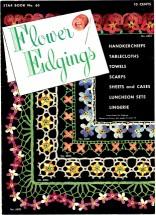 Flower Edgings Crochet Book No. 65