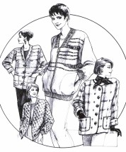 Great Copy 835 Bomber & Boxy Style Jackets Sewing Pattern Bust 31 - 45