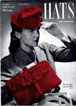 Clark's J. & P. Coats Book No. 227 Hats and Accessories Crochet Book