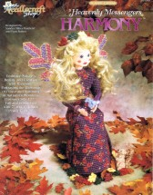 Heavenly Messengers Harmony Angel Plastic Canvas Book