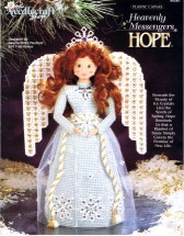 Heavenly Messengers Hope Angel Plastic Canvas Book