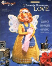Heavenly Messengers Love Angel Plastic Canvas Book