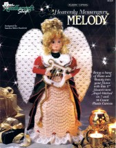 Heavenly Messengers Melody Angel Plastic Canvas Book
