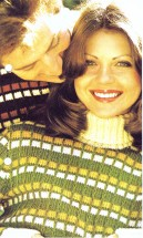 His / Hers Check Mates Turtleneck Sweater Knitting Pattern