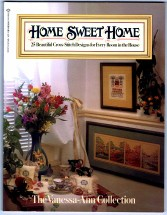 Home Sweet Home - Cross Stitch - The Vanessa-Ann Collection