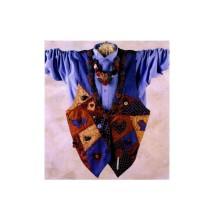 Misses Vest Necklace Indygo Junction IJ312 Vintage Sewing Pattern Size S - M - L