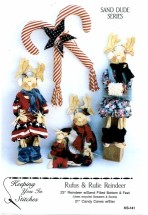 Keeping You in Stitches KS-141 Rufus & Rufie Reindeer