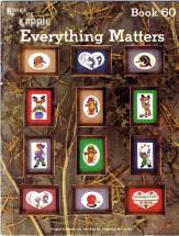 Kount on Kappie Everything Matters Cross Stitch Book 60