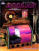 Lighthouse Gallery and Wild Flowers Decorative Tole Painting Book