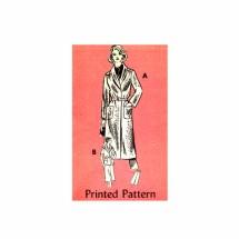 1970s Misses Coat Jacket Skirt Mail Order 4967 Vintage Sewing Pattern Size 12 Bust 34