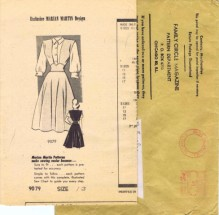 Marian Martin 9079 Womens Jumper & Blouse Vintage Sewing Pattern Size 13