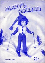 Mary's Dollies Doll Clothes Crochet Pattern Book Volume No. 2