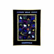 Always Wear Clean Underwear Quilt Material Girl Sewing Pattern