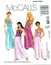 McCall's 3123 Tops & Skirts Size 7 - 10