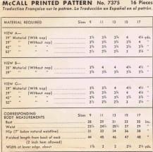 McCall 7375